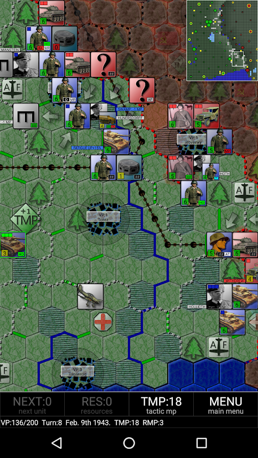 Third Battle of Kharkov- screenshot