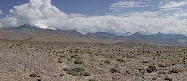 Berge nördlich des Karakul.