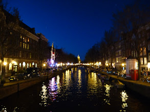 Photo: Nighttime on the canals