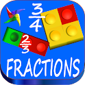 Fractions Learning Games icon