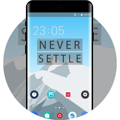 App Insights: Theme for google pixel flat snow hill wallpaper | Apptopia