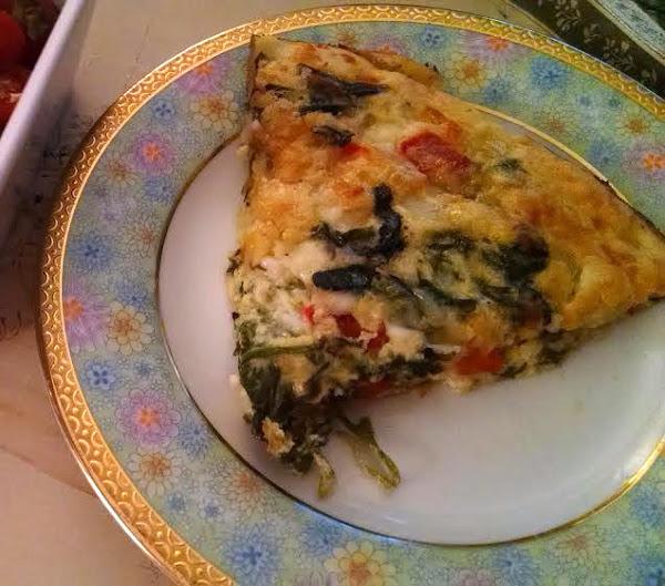 Parmesan-spinach Quiche Recipe