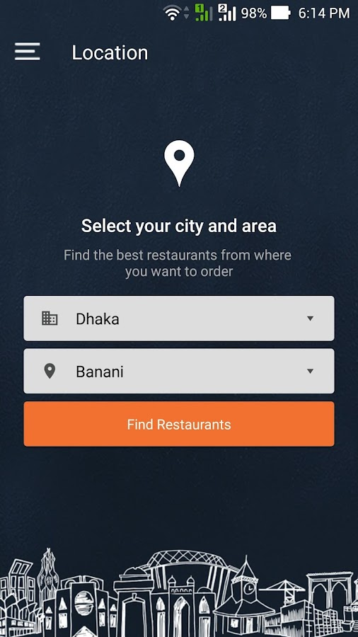 HungryNaki - Food Delivery- screenshot