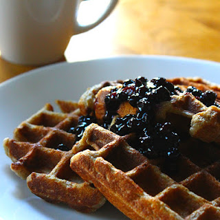 Spiced Toasted-Oat Waffles.