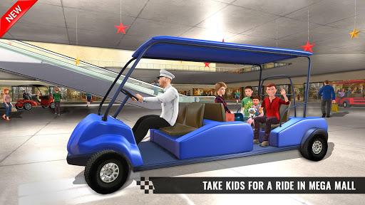 Shopping Mall Smart Taxi: Family Car Taxi Games 1.1 screenshots 3