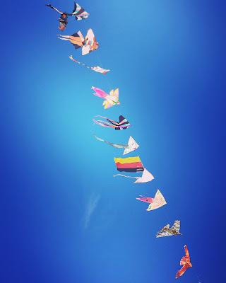il cielo è blu sopra gli aquiloni di laura_bazzy_bazzan