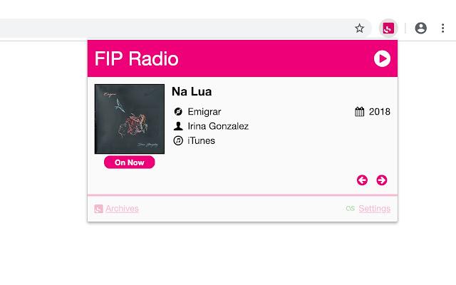 Fip Radio Player