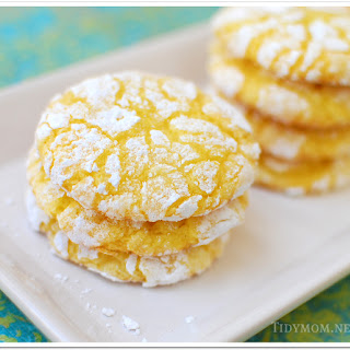 Lemon Burst Cake Mix Cookies.