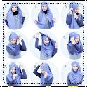 لفات حجاب بالخطوات والصور icon