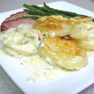 Blue-Cheese Scalloped Potatoes