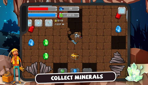 Digger Machine: dig and find minerals 2.7.0 screenshots 8