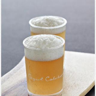 Beer Like Apple Juice Jelly 苹果泡沫果冻