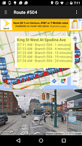 My TTC Next Bus screenshot 1