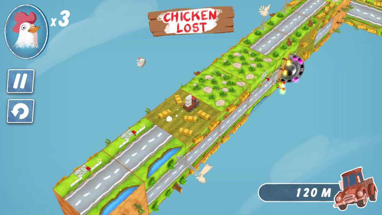 Chicken Tumble- screenshot