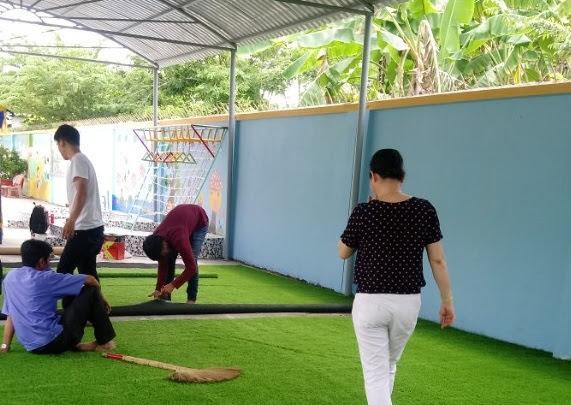 Sức lực của người rèn luyện thể dục trên Thảm sân golf là hệ trọng