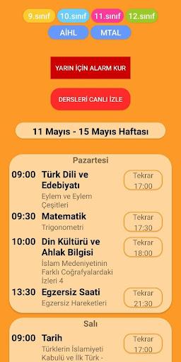 Eba TV Ders Programı screenshot 4