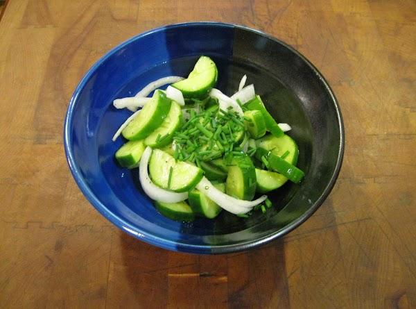 Oriental Cucumber And Onion Salad Recipe