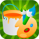 Draw & Color - Kids Drawing Game icon