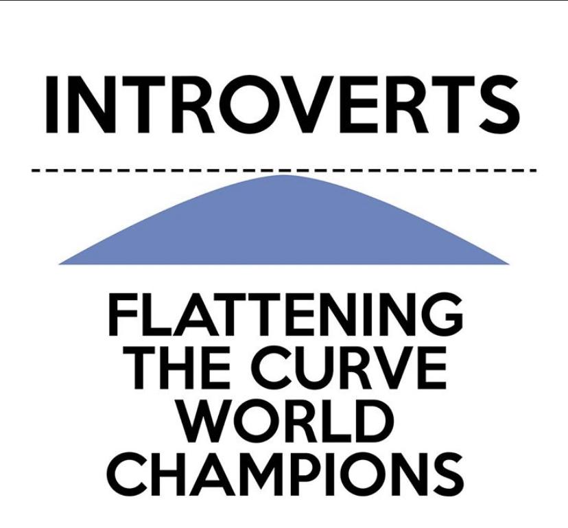 introvert coronavirus meme