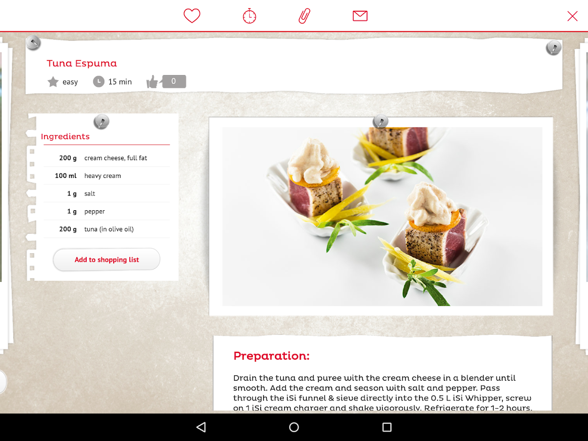 iSi Culinary- screenshot