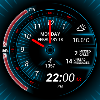 Torque Watch Face- screenshot