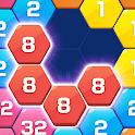 Merge Block Puzzle - 2048 Hexa icon