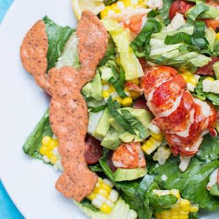 Lobster Caesar Salad Supreme.