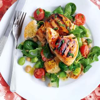 Lemon And Honey Chicken Salad.