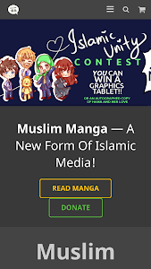 Muslim Manga (Islamic Comics) screenshot 0