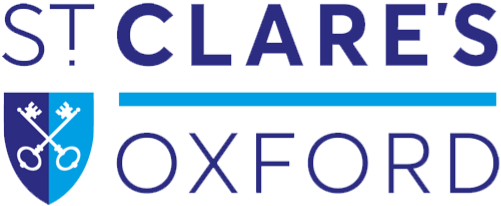 St Clare's Oxford logo