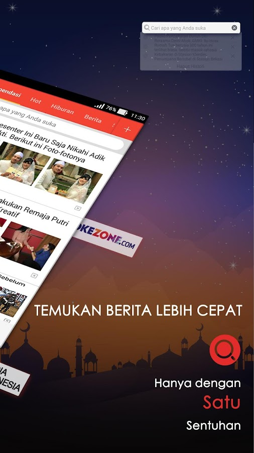 Baca-Berita dan Video- screenshot