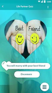 Life Partner Quiz - náhled