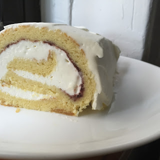 Jelly Roll Sponge Cake