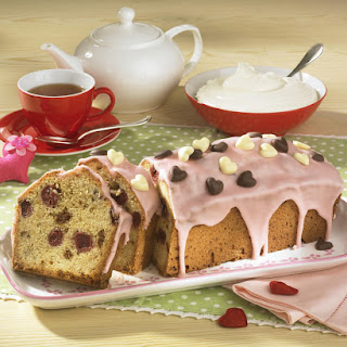 Almond and Cherry Cake