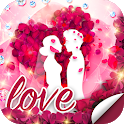 Love Roses Stickers For WhatsApp - Kiss GIF icon