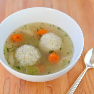 Floater Matzo Balls