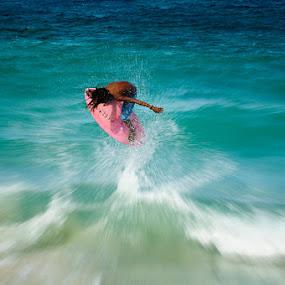 splash by Rodrigo Layug - Sports & Fitness Watersports ( watersports, skimboarding )