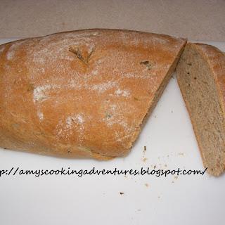 Rosemary Basil Bread.