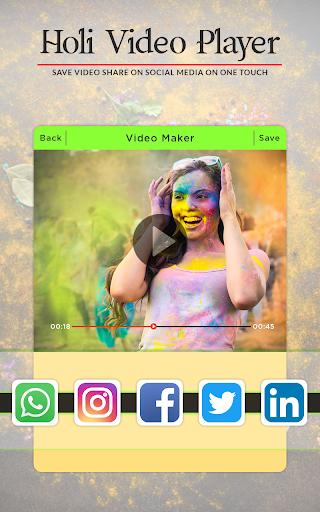 Holi Video Maker 2018 - Holi Slideshow Maker 1.1.0 screenshots 5