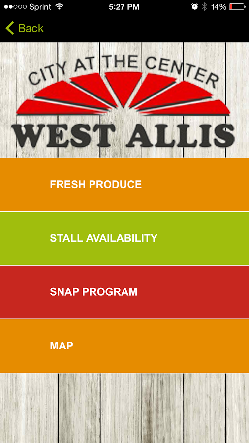 West Allis Farmers Market- screenshot
