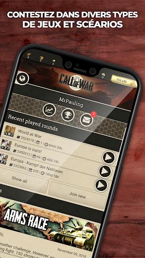 Call of War - Guerre mondiale jeu de stratégie  captures d'écran 1