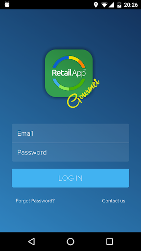 RetailApp Gourmet screenshot 1