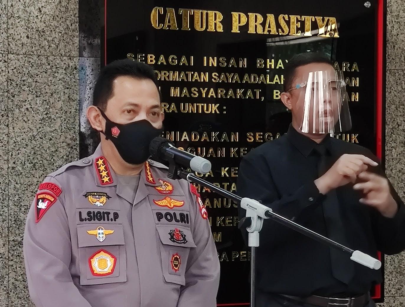 Kapolri Jenderal Listyo Sigit Prabowo : Instruksikan Jajarannya Jangan Ragu Usut Tuntas Mafia Tanah