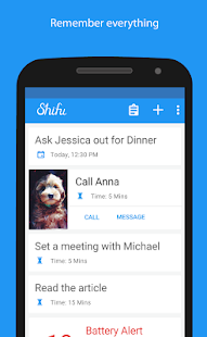 Shifu:Smart To Do List Manager- screenshot thumbnail