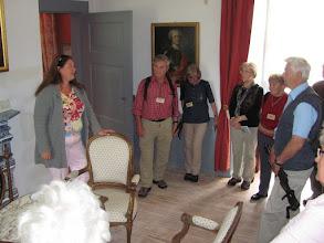 Photo: Mit Freifrau von dem Bussche-Hünnefeld im Schlossmuseum
