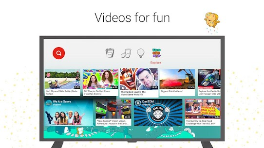 YouTube Kids for Android TV 3