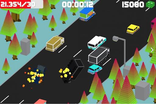 Blocky highway racing 0.88 screenshots 2