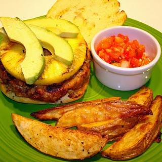 Pineapple-Chorizo Burgers