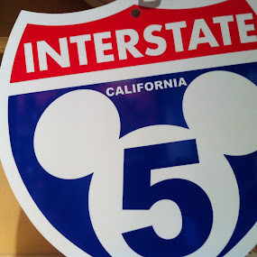 Magical Road Sign by Justin Kifer - Artistic Objects Other Objects ( road sign, disney, pwcroadsigns )