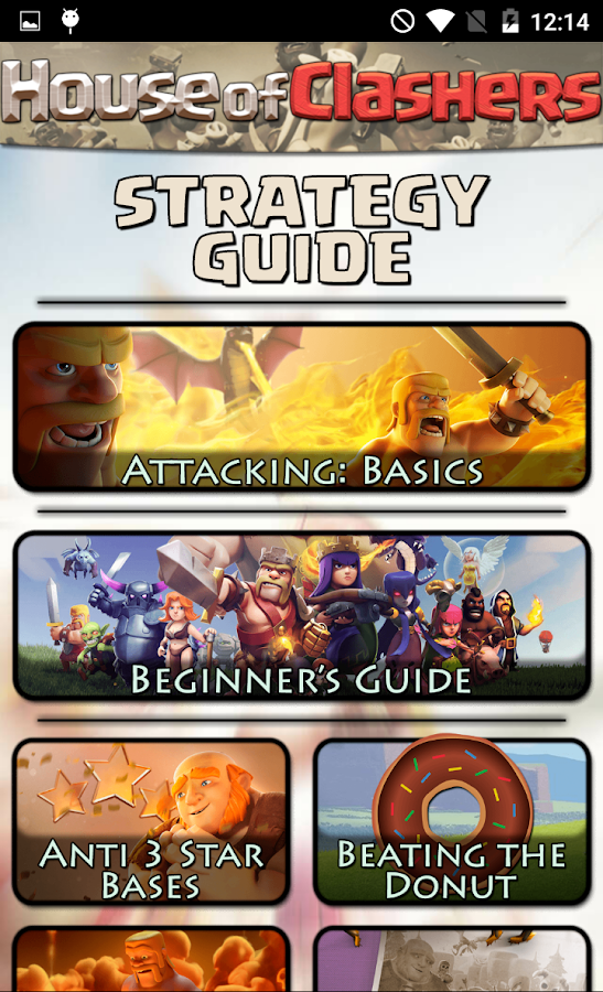Guide for Clash of Clans CoC- screenshot